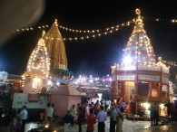 The Temples at Har ki Pauri