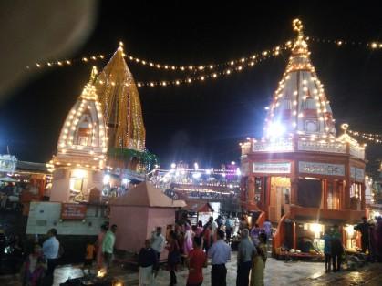 The Temples at Har ki Pauri